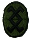 120th ARCOM Army Reserve Command Tygmärke Subdued