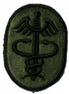 Army Medical Command Tygmärke Subdued