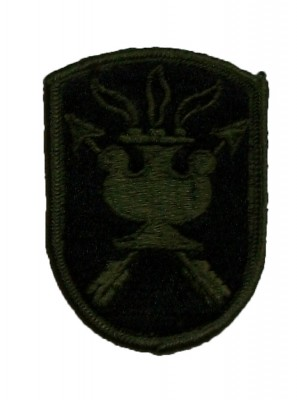 Special Forces JFK Special Warfare patch SubDued