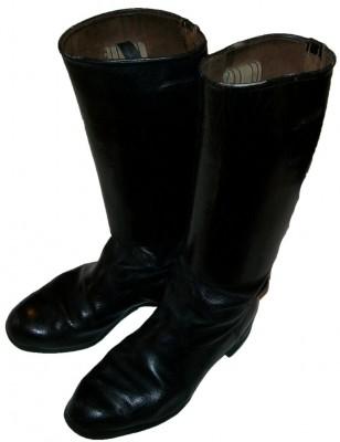 Stövlar Schaftstiefel Offizier WW2 original: Stl. 40 WW1