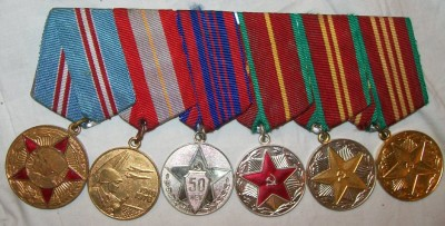 Medaljset+x6+Court+Mounted+CCCP+original