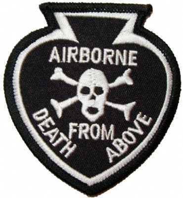 101st Airborne Tygmärke Death from Above