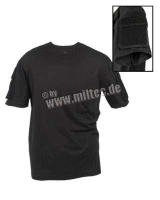 T-Shirt Combat Tactical Under Armor + Kardborre Black