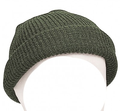 Mössa Commando Watch Cap Wool OD