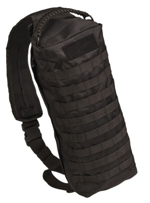 Assault Pack Sling-Bag Tanker Molle Ryggsäck Black