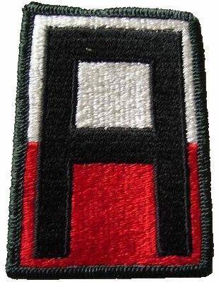 1st Army Combat Patch färg