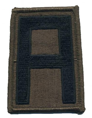 1st Army Combat patch Subdued