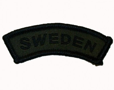 Nationsmärke Båge M94 Sweden SubDued Sverige