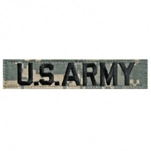 ACU Digital Strip: US ARMY