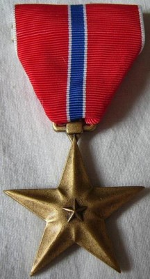 Bronze Star Medalj