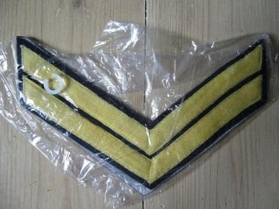 Chevrons Corporal Union Cavalry