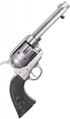 Colt .45 Peacemaker Silver repro