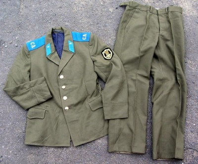 Fältuniform Air Force Officer CCCP WW2 typ: 50