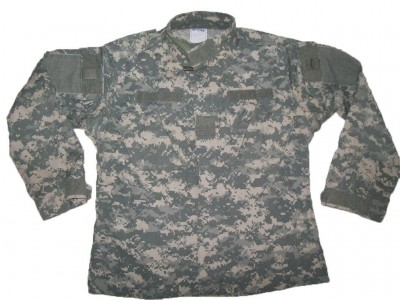 Fältskjorta ACU Digital US Army: Battle worn
