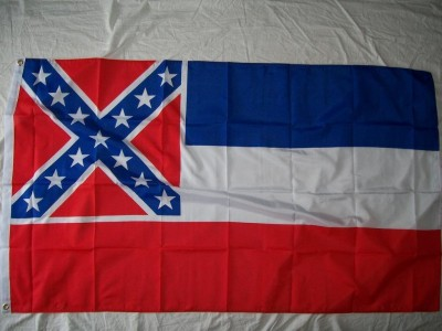 Flagga CSA Mississippi Confederate Civil War