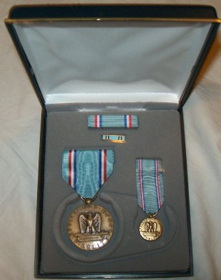 Good Conduct Air Force Medaljset x4
