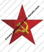 Hjälmdekal #RAS020 Red Army CCCP WW2
