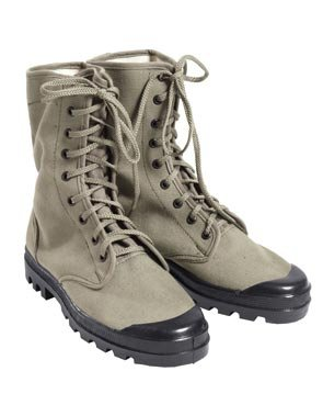 Kängor Jungle D-Day M42 Canvas Rubber Boots