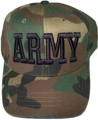 Keps US Army Woodland Camo