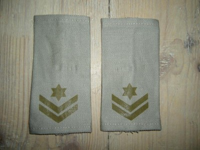 Rank IDF Israel army Axel Warrant Officer