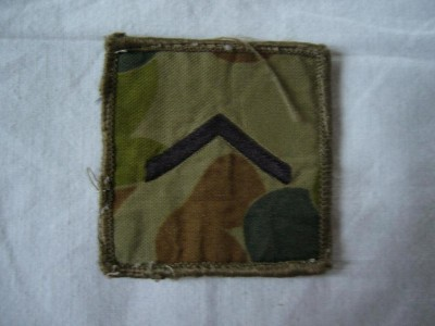 Rank Private Auscam Army Australien
