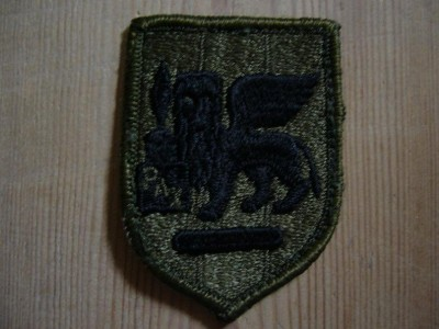 Southern Europe Task Force Combat patch Subdued