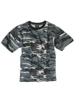 T-Shirt Dark Camo US Navy