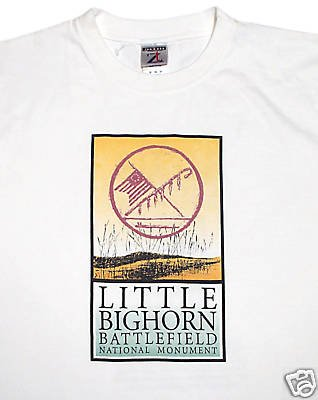 T-Shirt Little Big Horn Battlefield: M