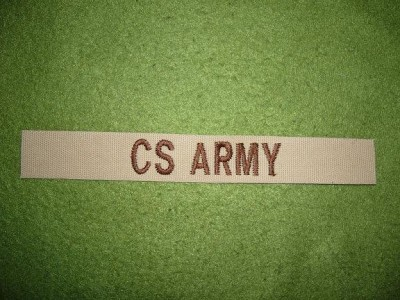 Uniformsstrip CS Army