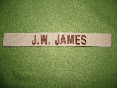 Uniformsstrip Jesse Woodson James