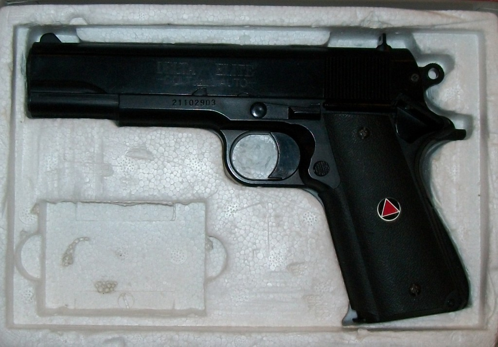 .45 Colt Automatic Delta Elite Replika Plast