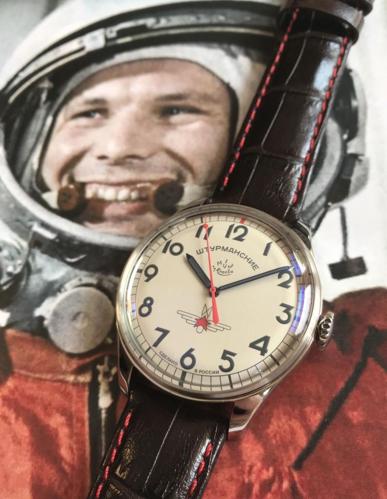Klocka Yuri Gagarin CCCP DeLuxe repro - NASA - ÖVRIGT ...
